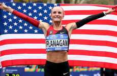 2017 New York Women's Marathon winner Shalane Flanagan