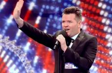 Edward Reid on Britain's Got Talent