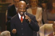 "Wintley Phipps performs ""Amazing Grace"""