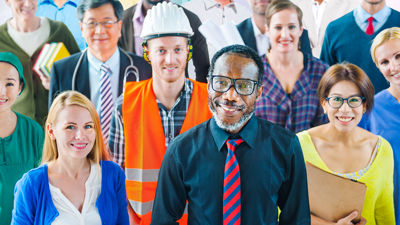 A disparate and wide-ranging group of workers