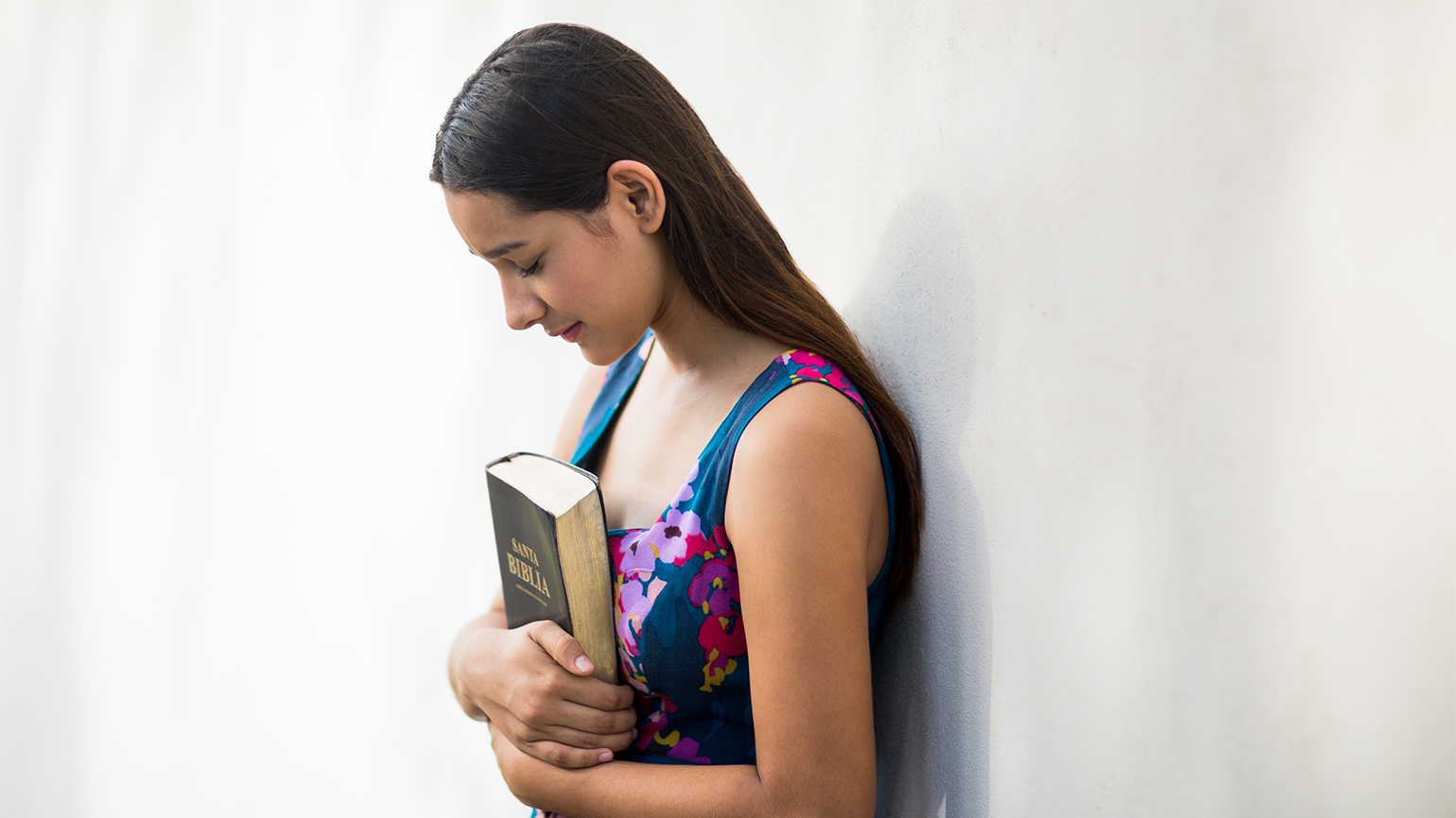 Youhng woman with Bible